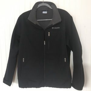 Columbia Softshell Jacket - Mens -  Black